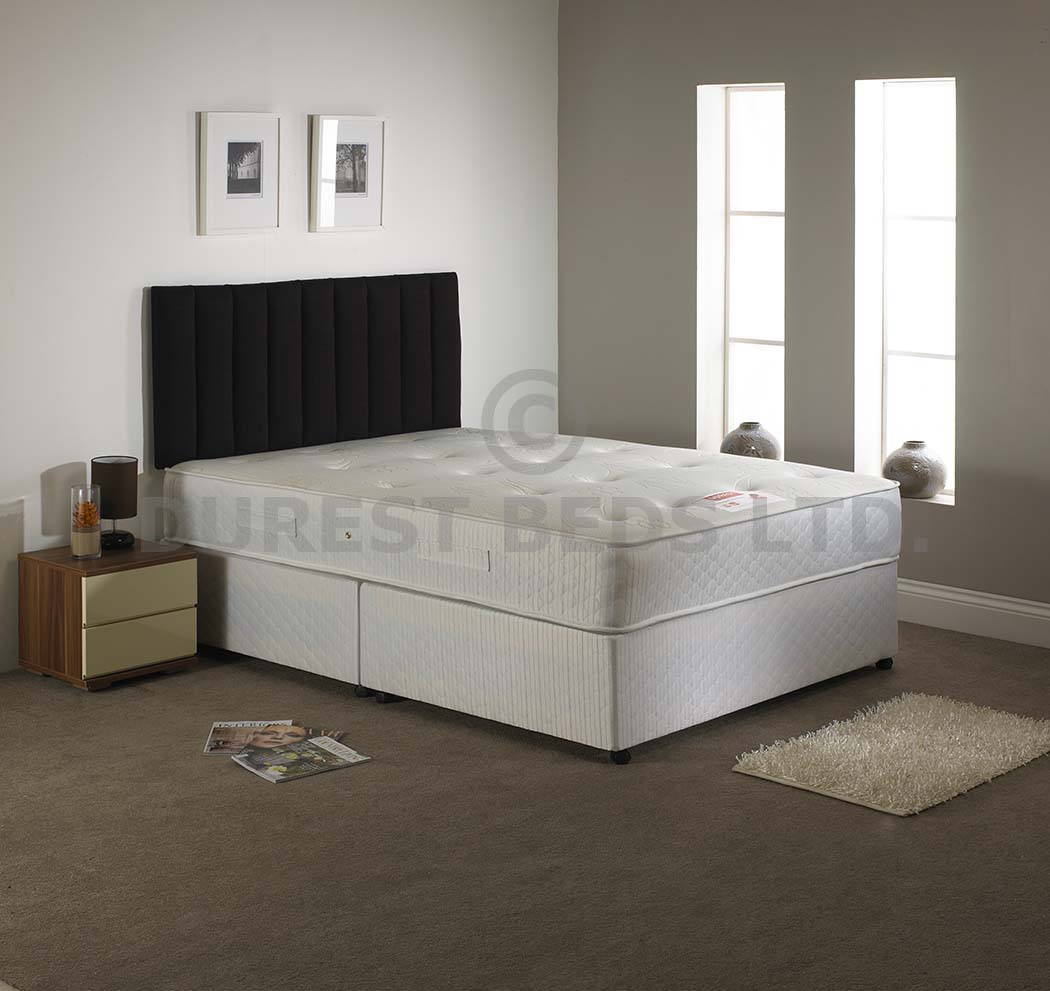Beds 24hr for Small double divan bed with memory foam mattress