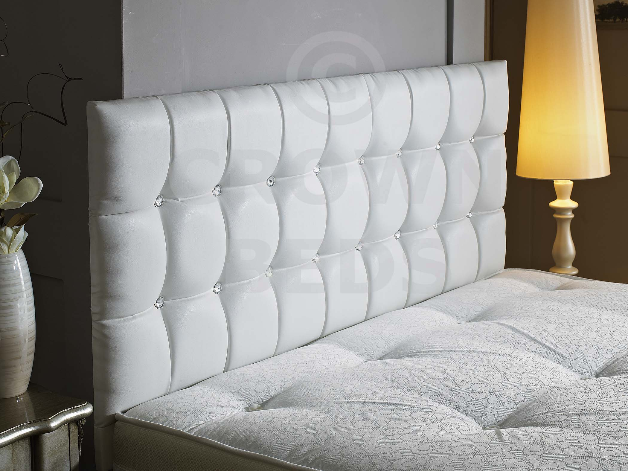 inside leather design ideas diamond info tufted headboard white home bed appareilphotonumerique with