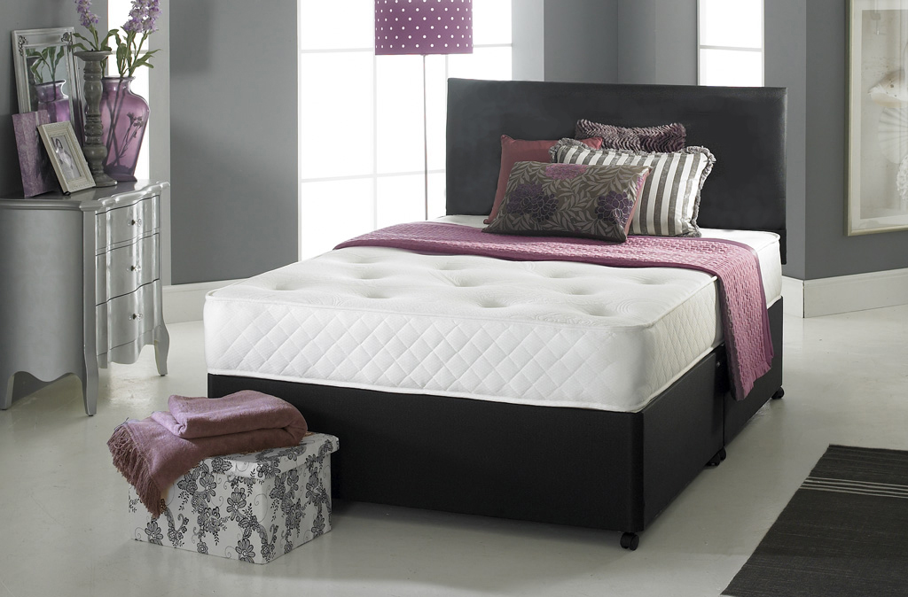 Beds 24hr for Small double divan bed with headboard