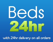 Beds 24hr Logo